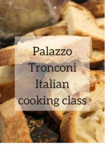 Palazzo Tronconi Italian cooking class