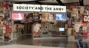Society gallery, National Army Museum, London. Copyright Gretta Schifano