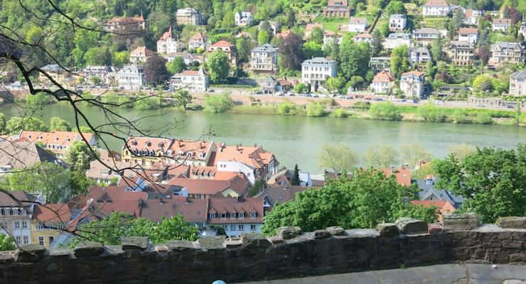 View from Heidelberg Castle, Germany