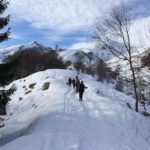 Walking in the Italian Alps. Copyright Gretta Schifano