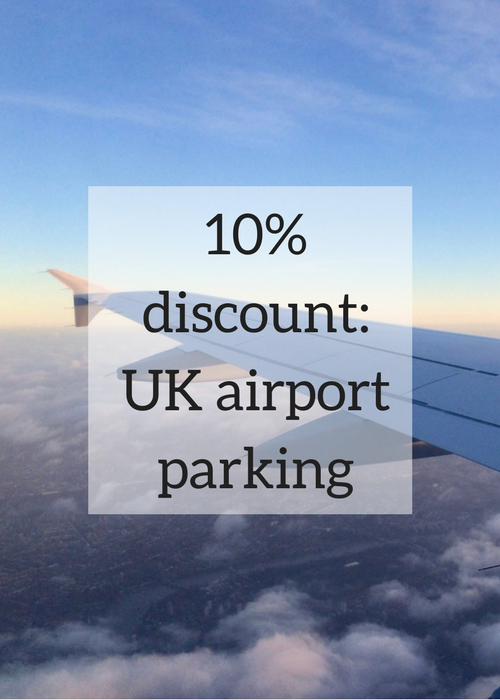 If you use airport parking when you're travelling from the UK, you will find this useful. Click through for details of how you can get a 10% discount on the cost of your airport parking.