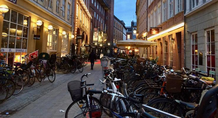 Evening in Copenhagen. Copyright Gretta Schifano