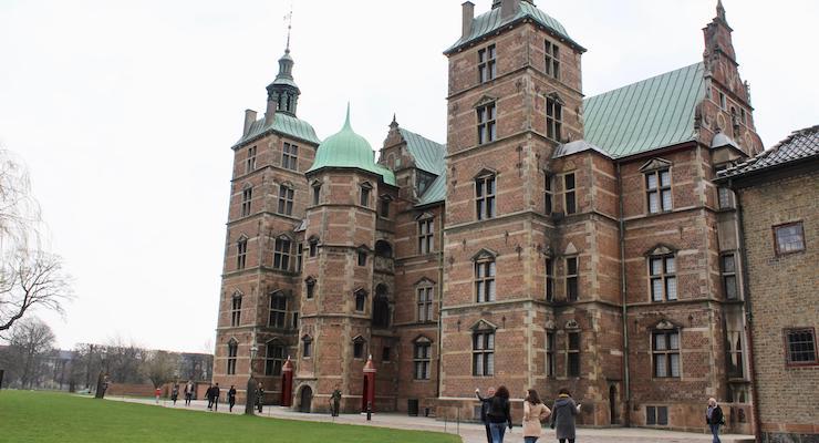 Rosenborg Slot, Copenhagen. Copyright Gretta Schifano