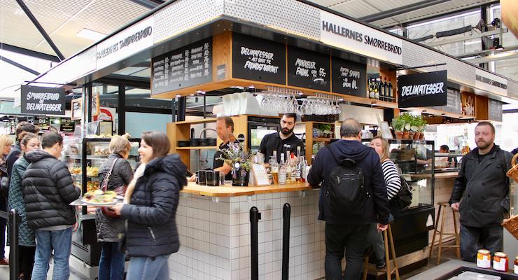 Torvehallerne market, Copenhagen. Copyright Gretta Schifano