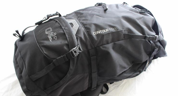 Vango Contour rucksack. Copyright Gretta Schifano