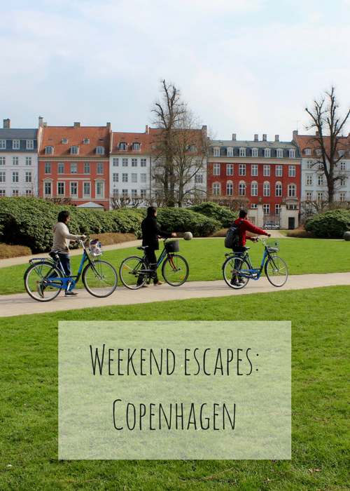 Travel tips and ideas for a weekend city break in Copenhagen, Denmark, without kids, including sightseeing, cycling, restaurants, flights and accommodation.