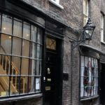 Goodwin's Court, London. Inspiration for Knockturn Alley. Copyright Gretta Schifano
