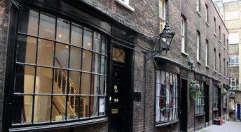Goodwin's Court, London. Inspiration for Knockturn Alley. Copyright Gretta Schifano