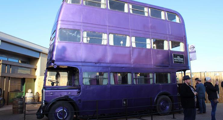 Knight Bus, Warner Bros Studio Tour. Copyright Gretta Schifano