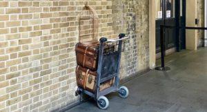 Platform 9 3:4, Kings Cross Station, London. Copyright Sal Schifano