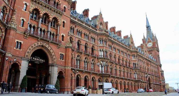 St Pancras Station, London. Copyright Gretta Schifano