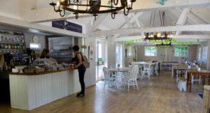 Cafe, Groombridge Place, Kent. Copyright Gretta Schifano