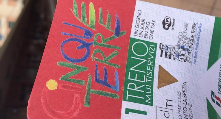 Cinque Terre Card. Copyright Gretta Schifano