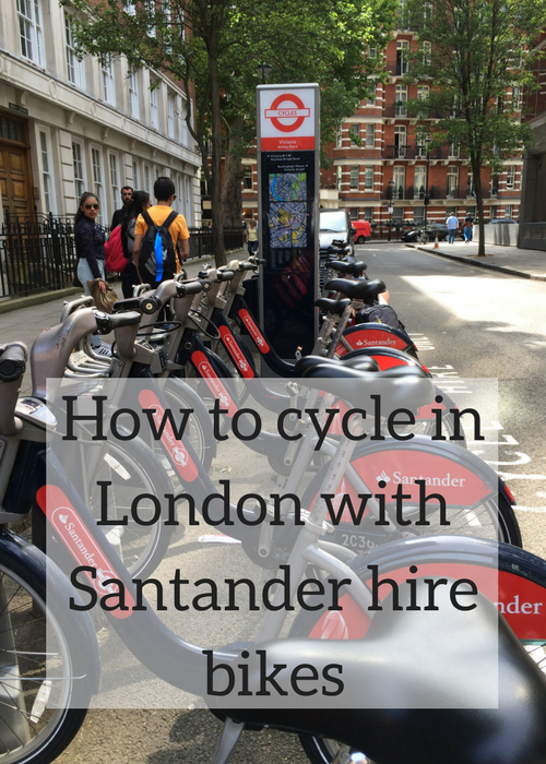 If you'd like to try cycling in London, the Santander public bike hire scheme is a great resource. It's easy to set up an account, cheap to hire a bike and there are docking stations across the city. Click through for full details of how it all works and tips and advice on what to look out for.