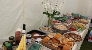 Food for our family party. Copyright Gretta Schifano