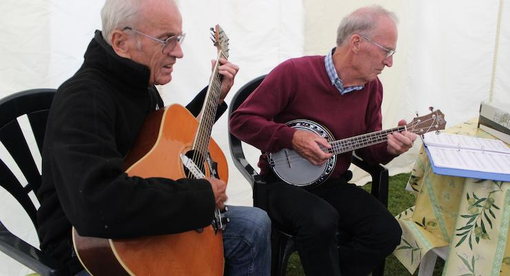 Music provided by the grandads. Copyright Gretta Schifano