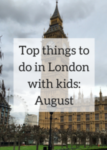 London is a great place for a family day out at any time of year. During the summer there are loads of great things on offer for children and teenagers. Click through for details of the best things to do in the city in August, including visiting Buckingham Palace, open-air theatre, Notting Hill Carnival, urban beaches and lots, lots more.