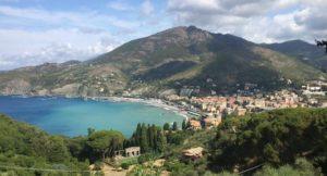 View of Levanto. Copyright Gretta Schifano