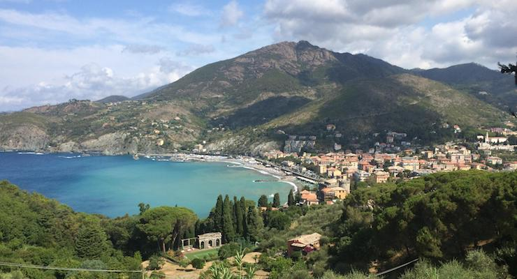 View of Levanto. Copyright Gretta Schifano