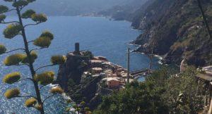 View of Vernazza. Copyright Gretta Schifano