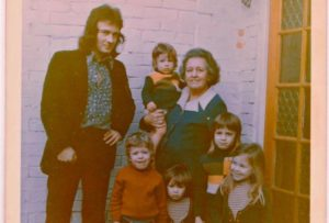 1970s matching outfits and dodgy haircuts. Copyright Paul Young