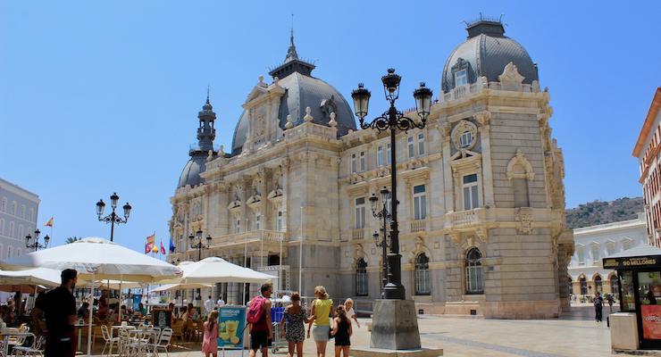 Cartagena, Spain. Copyright Gretta Schifano