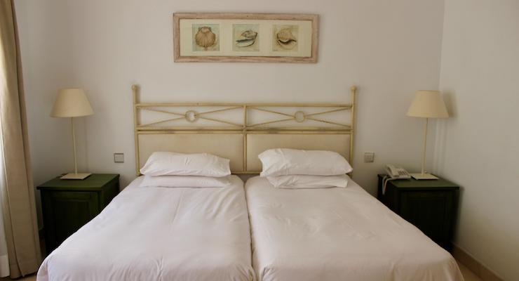Main bedroom, Las Lomas townhouse, La Manga Club, Spain. Copyright Gretta Schifano