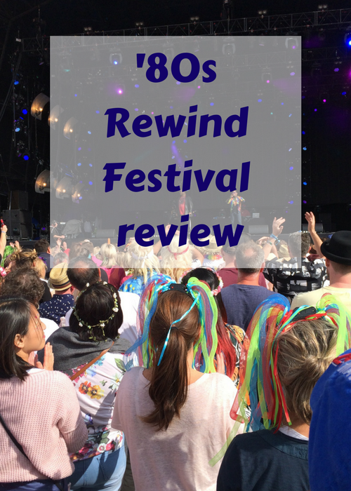 Rewind Festival is an annual celebration of 1980s music which takes place in three UK locations each summer. This is a review of the 2017 Henley-on Thames Rewind - click through for the lowdown on the artists, glamping, dressing up, festival food, the silent disco and posh toilets.
