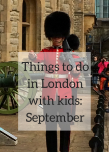 Ideas for quirky and fun things to do in London with children and teenagers in September, beyond the obvious iconic landmarks and museums, including the Pearly Kings & Queens Harvest Festival, Totally Thames, New Scientist Live and lots more. Click through for full details of what's happening in the capital this September.