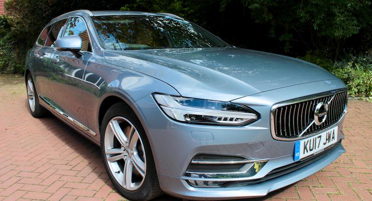 Volvo V90 D5 Inscription. Copyright Gretta Schifano
