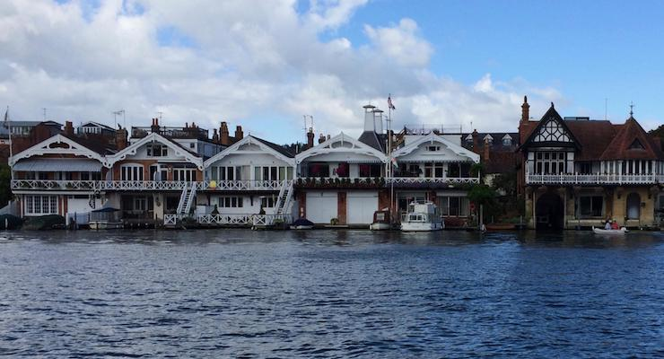 Walking along the river from Rewind to Henley-on-Thames. Copyright Gretta Schifano