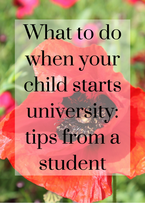 When your teenager starts university it can be a tricky time. Click through for helpful and practical advice from a student on what to do when your child starts university.