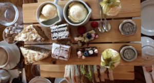 Afternoon tea, The Malvern Spa. Copyright Gretta Schifano