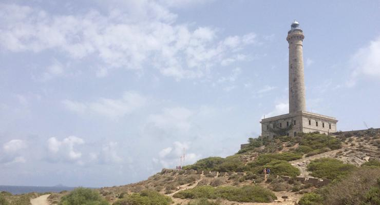 Cabo de Palos lighthouse, Spain. Copyright Gretta Schifano