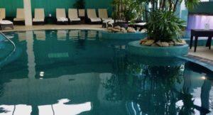 Indoor pool, The Malvern Spa. Copyright Gretta Schifano