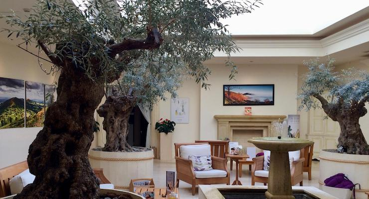 Lounge area, The Malvern Spa. Copyright Gretta Schifano