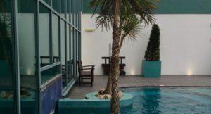 Outdoor pool, The Malvern Spa. Copyright Gretta Schifano