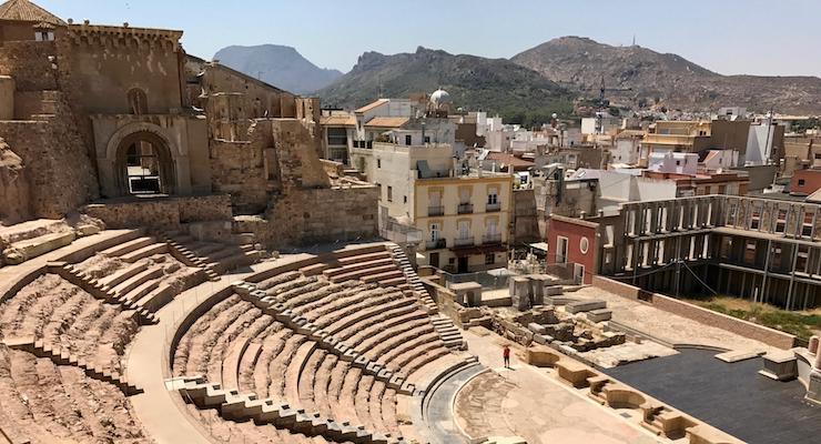 Roman amphitheatre, Cartagena, Spain. Copyright Gretta Schifano
