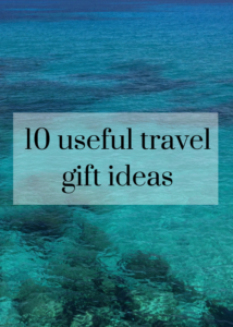 If you're looking for inspiration for presents to buy for someone who enjoys travel, here are some ideas for you. Click through for details of some gorgeous clothing, useful gadgets, inspiring books, practical bags, as well as charity presents, with information on prices and where to buy.