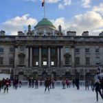 Ice skating, Somerset House, London. Copyright Gretta Schifano