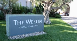 The Westin, Costa Navarino. Copyright Gretta Schifano