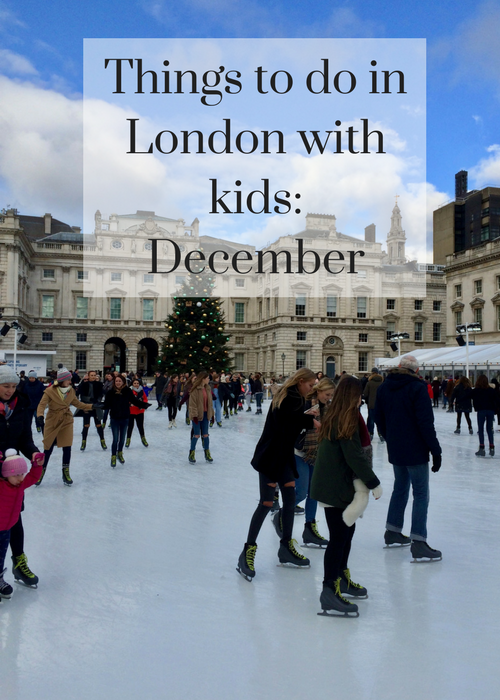 If you're planning a family day out in London in December, click through for details of great things to see and do there with kids, including ice skating, Christmas markets, Harlequins rugby, winter cinema, theatre performances, pantomimes, Christmas lights, carol singing, fireworks and more.
