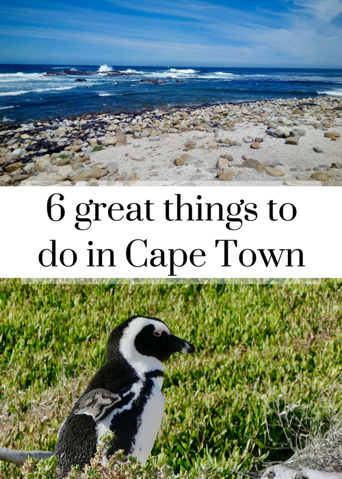 Ideas for great things to do in Cape Town, South Africa, for families travelling with teenagers and children, including seeing a penguin colony, surfing, Chapman's Peak Drive and the Cape of Good Hope Nature Reserve. Click through to read about how to do it.