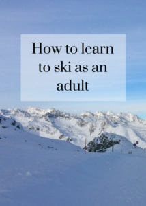 If you'd like to learn to ski or improve your skiing as an adult, this post from a ski trip to Italy explains what it feels like and gives you some tips about how to do it. Click through to read the full post.