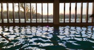 Indoor pool, New Park Manor, New Forest. Copyright Gretta Schifano
