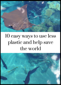 Plastic waste is a huge and growing problem around the world - but there are lost of ways that we can all help with this. Click through for 10 simple ideas for ways to reduce your use of plastic, both at home and on your travels - they're all really easy to do, and will make a difference.