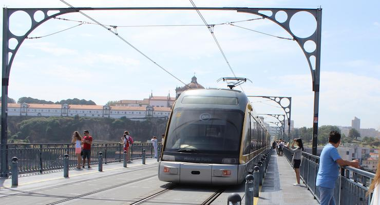 Train, Porto, Portugal. Copyright Gretta Schifano