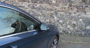 Hyundai i30 parked in Canterbury, Kent. Copyright Gretta Schifano