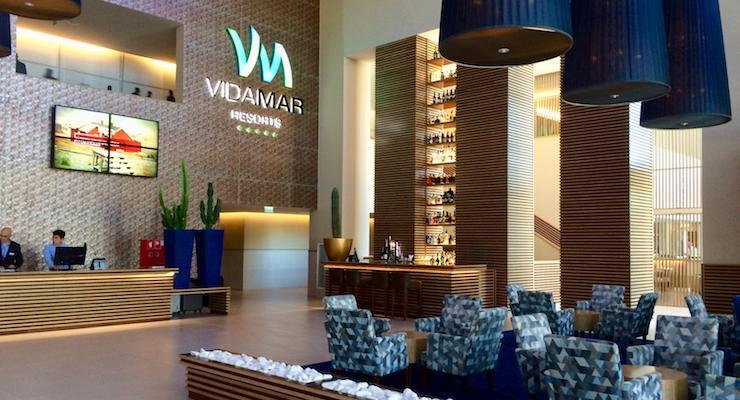 Lobby, Vidamar Hotel, Algarve, Portugal. Copyright Gretta Schifano