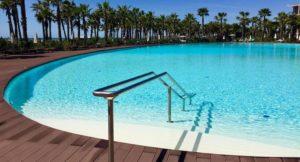 Main outdoor pool, Vidamar Resort Hotel, Algarve, Portugal. Copyright Gretta Schifano